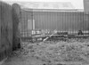 SD600521B1, Man marking Ordnance Survey minor control revision point with an arrow in 1950s