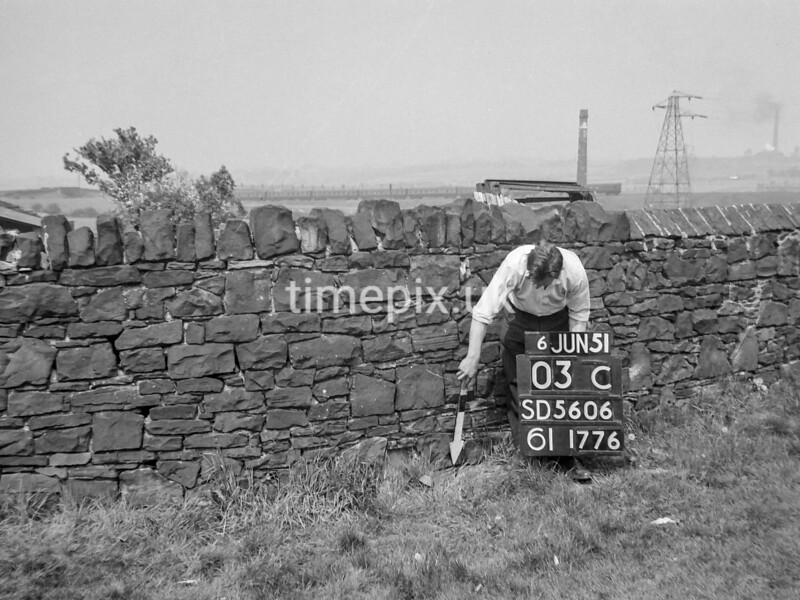 SD560603C, Ordnance Survey Revision Point photograph in Greater Manchester