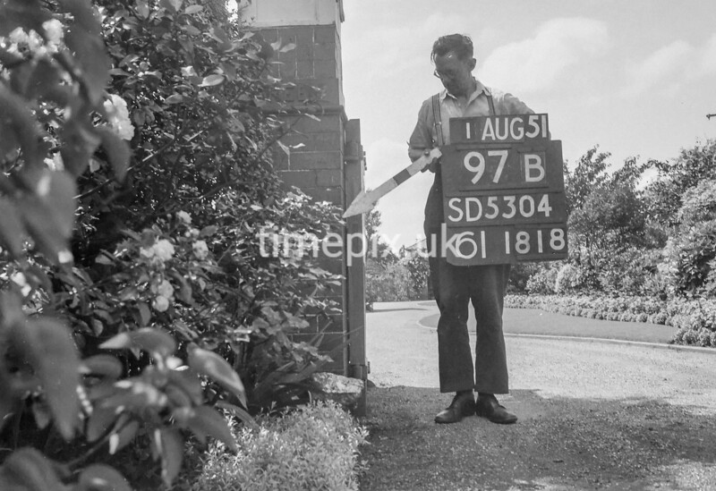 SD530497B, Ordnance Survey Revision Point photograph in Greater Manchester