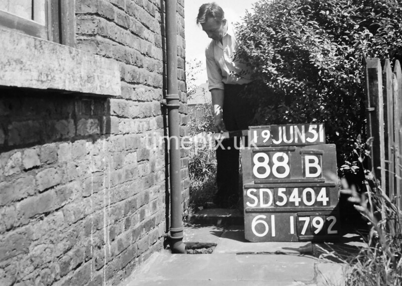 SD540488B, Ordnance Survey Revision Point photograph in Greater Manchester