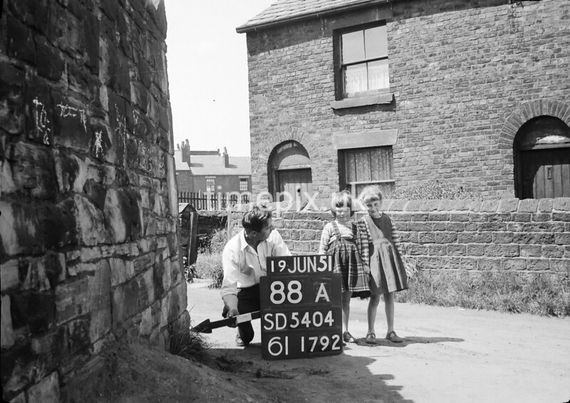SD540488A, Ordnance Survey Revision Point photograph in Greater Manchester