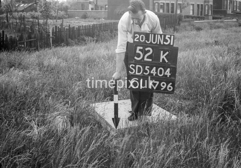 SD540452K, Ordnance Survey Revision Point photograph in Greater Manchester