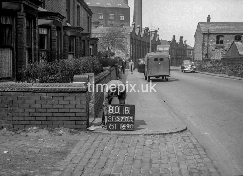 SD570580B, Ordnance Survey Revision Point photograph in Wigan