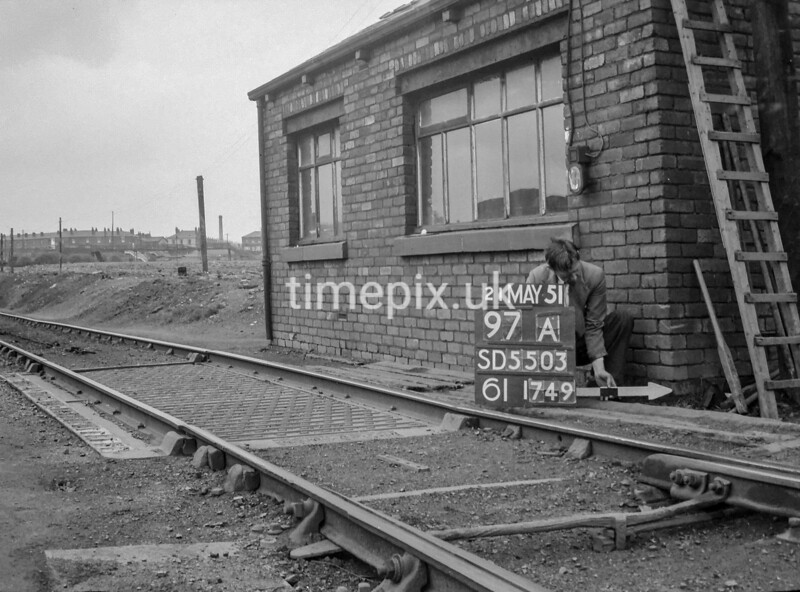 SD550397A, Ordnance Survey Revision Point photograph in Greater Manchester