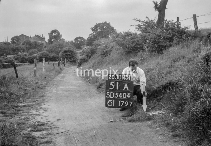 SD540451A, Ordnance Survey Revision Point photograph in Greater Manchester