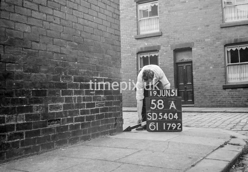 SD540458A, Ordnance Survey Revision Point photograph in Greater Manchester