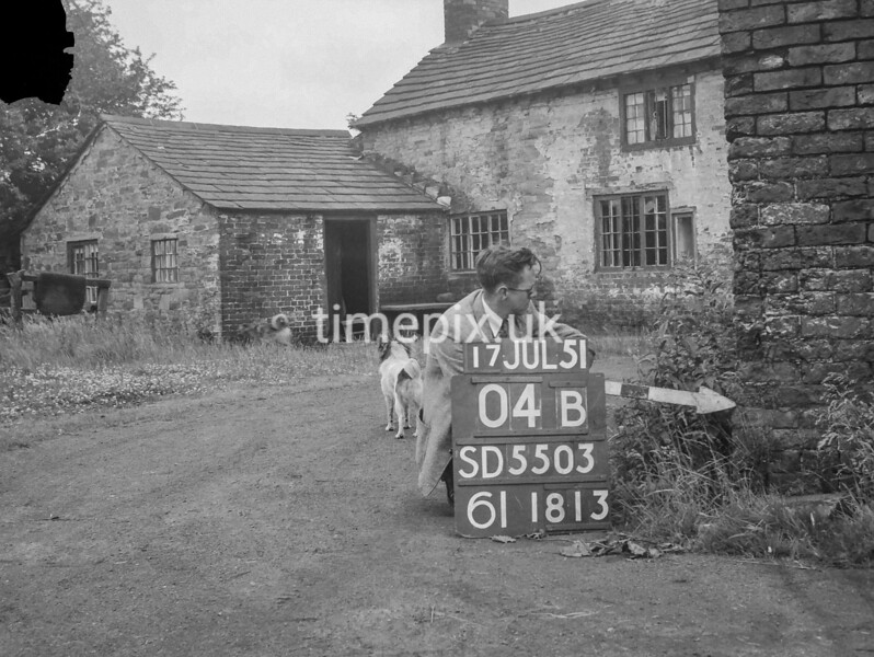 SD550304B, Ordnance Survey Revision Point photograph in Greater Manchester