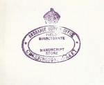 OS stamp Manuscript Store purple