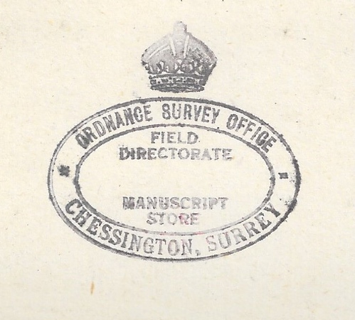 OS stamp Manuscript Store black