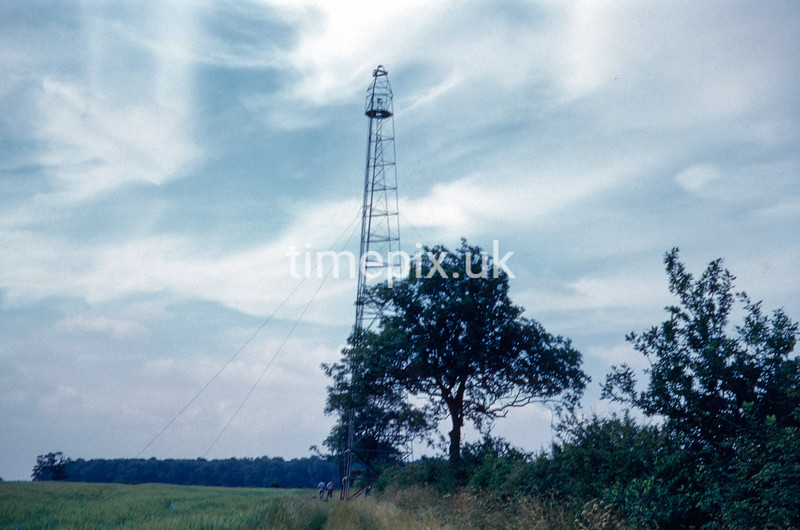 Grantham, Lincolnshire, Ordnance Survey retriangulation of GB, 1961