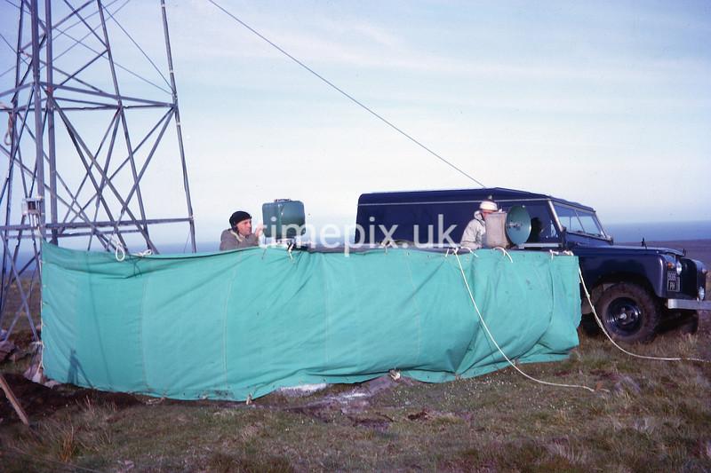 Near John O'Groats, Ordnance Survey retriangulation of GB in 1964