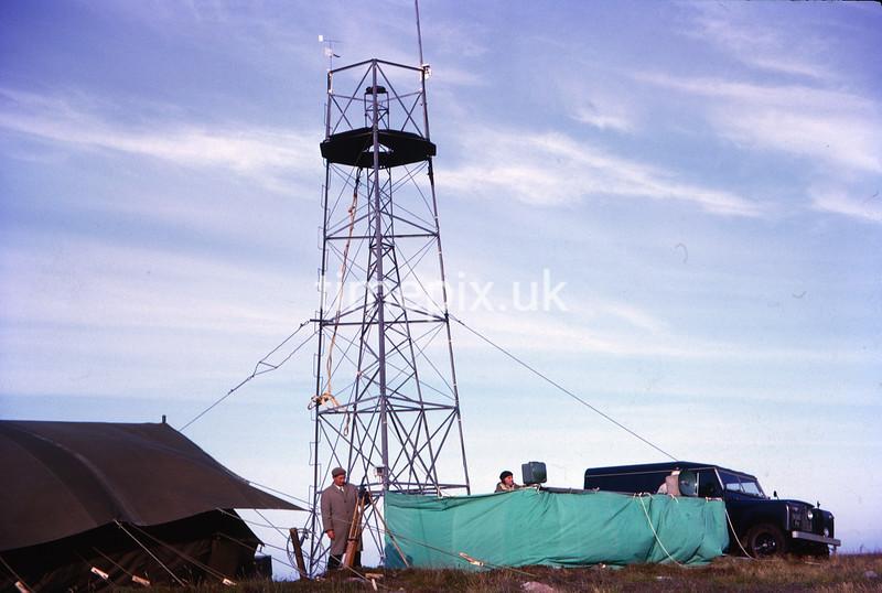 Near John O' Groats, Ordnance Survey retriangulation of GB, 1964