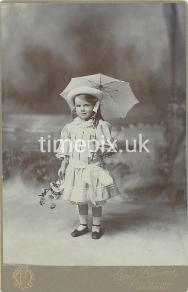 StonelyPhoto14, 1900s Cabinet card by Bert Flemons, Tonbridge, Kent