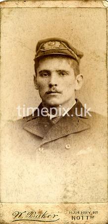 DrBuckby32F, 1890s petite card by N Baker ofof Nottingham