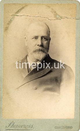 DrBuckby45F, 1890s carte de visite by W Shawcross