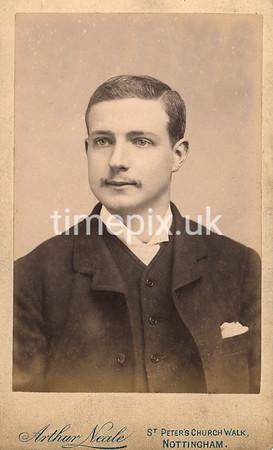 DrBuckby56F, 1890s carte de viste by Arthur Neale of Nottingham