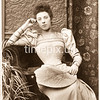 Mid 1890s cabinet card by John Tom Drinkwater Butt of Carlisle