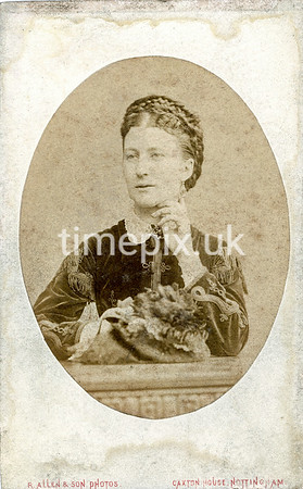 DrBuckby16F, 1870s carte de visite by R Allen of Nottingham