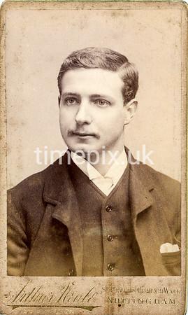 DrBuckby10F, 1890s carte de visite by Arthur Neale of Nottingham