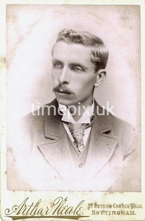 DrBuckby04F, 1890s cabinet card by Arthur Neale of Nottingham