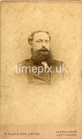 DrBuckby63F, 1870s carte de visite by R Allen