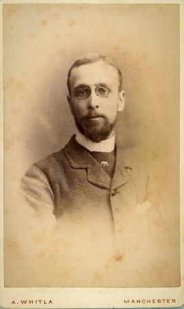 1880s carte de viste by A Whitla of Manchester