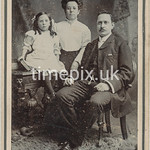 Leach05, 1900s cabinet card by Wilson Jennings of Blackburn