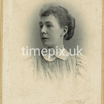 Leach08, 1890s cabinet card by F Sharples of Blackburn