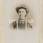 Leach04, 1890s cabinet card by A H Taylor of Liverpool