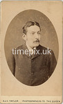 Pearl10f, 1880s carte de viste by A & G Taylor at Plymouth