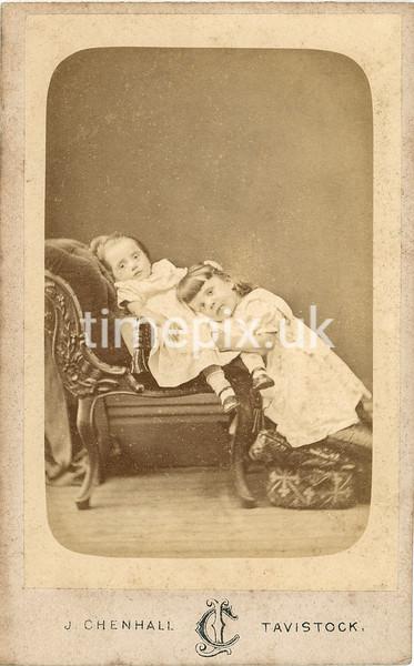 Pearl15f, 1870s carte de visite by James Chenhall of Tavistock, Devon