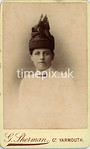 Pearl09f, 1880s carte de viste by George Sherman of Great Yarmouth