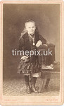 Pearl08f, 1870s carte de visite by James Rawlings of Paignton, Devon