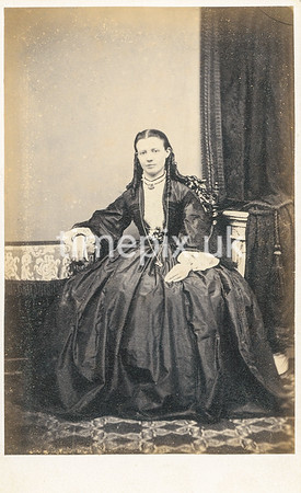 1860s carte de visite by Housely of Bakewell.