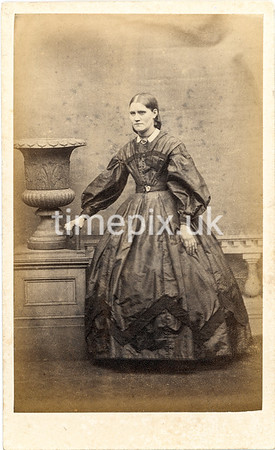 Troughton35f, 1860s carte de visite by William Thomas Gird of Whitehaven