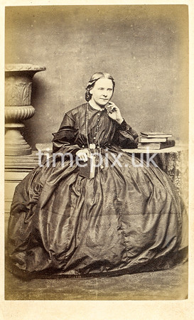 Troughton12f, 1860s carte de visite by William Thomas Gird of Whitehaven
