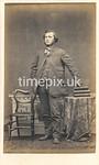 Troughton41f, 1860s carte de visite by William Thomas Gird of Whitehaven