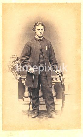 Troughton26f, 1860s carte de visite by William Thomas Gird of Whitehaven