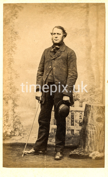 Troughton02f, 1860s carte de visite by William Thomas Gird of Whitehaven.