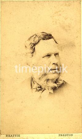 1860s carte de visite by Alfred Beattie of Preston, Lancashire.