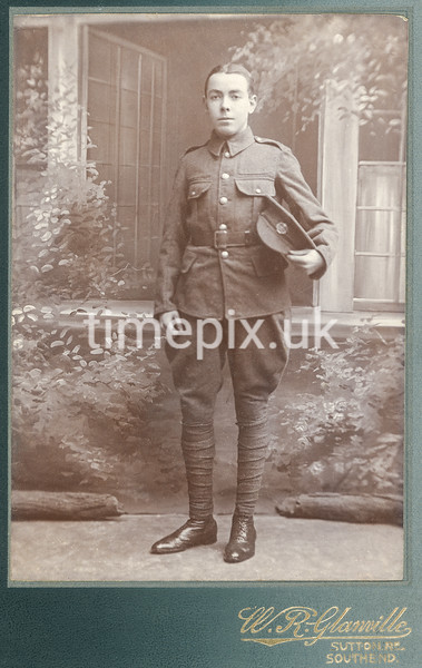 SmithPhoto20, 1910s cabinet card by William Russell Glanville of Southend, Essex