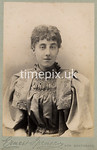 SmithPhoto08, 1890s cabinet card by Ernest Spencer of New Southgate, London