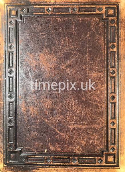 Leather cover of Stansfield Collinson album