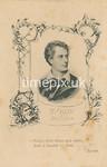 Victorian photograph album filler card