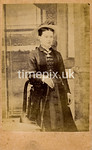 1870s Carte de Visite photograph by Henry Mower of Exeter