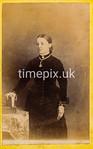 1870s Carte de Visite photograph by F Gillet of Longridge, Preston