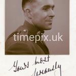 Portrait of Edward Minton WW2 soldier, unknown photographer