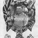 Portrait of member of the Royal Army Service Corps, Palestine