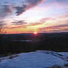 New Year Sunset, Norvin Green State Forest, NJ