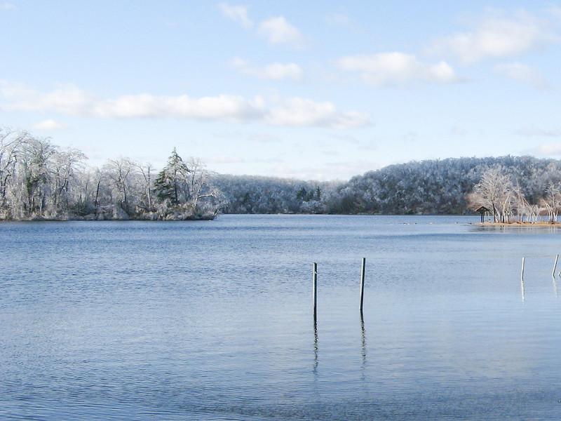 After the Ice Storm - Waywayanda Lake, NJ